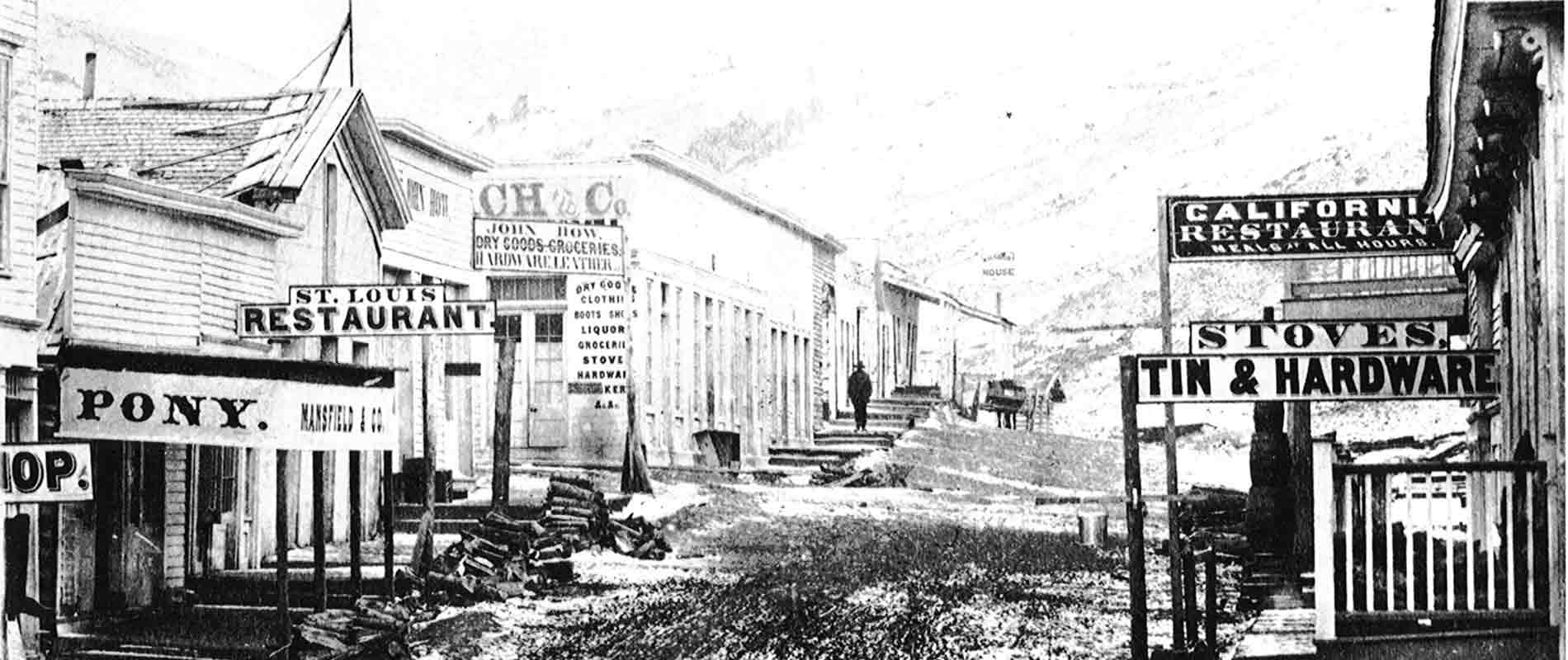 Virginia City in 1865