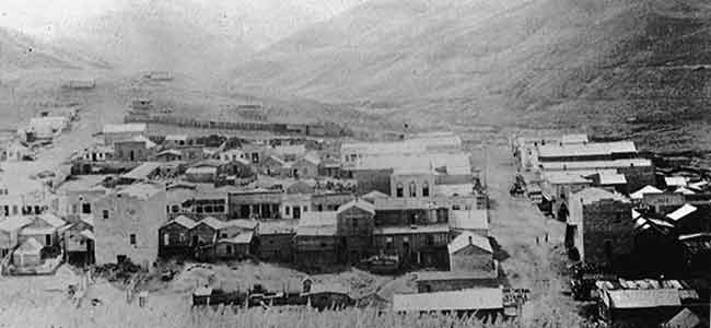 Virginia City between 1865 and 1866